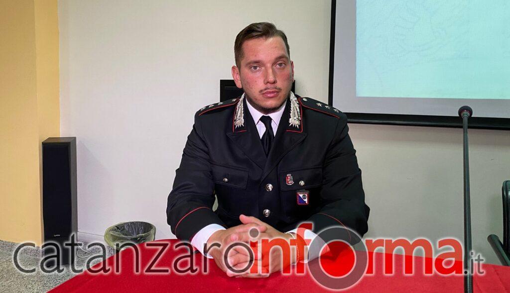 Cap. Luigi Cipriano, Comandante della Compagnia di Soverato